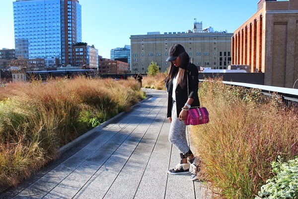 Ranti on the Highline in New York City